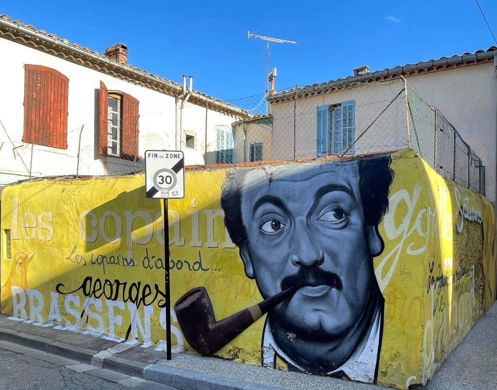 Georges Brassens Nîmes