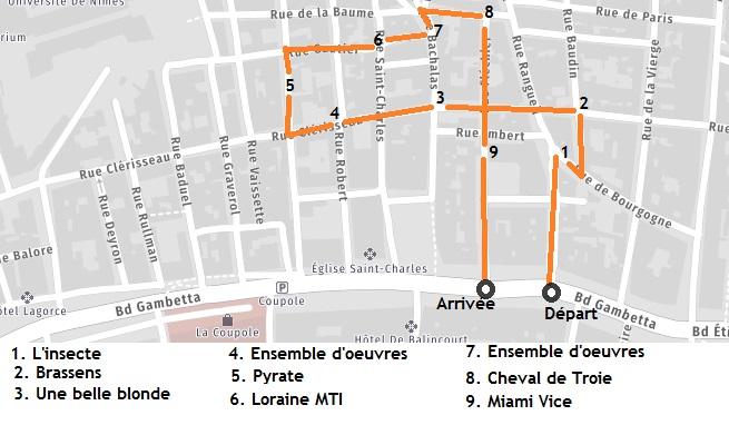 Itinéraire Street Art Nîmes