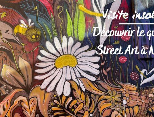 Découvrir le quartier Street art à Nîmes